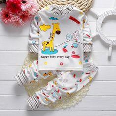 Cool Toddler Baby Boys Girls Pyjamas Captain Giraffe Rabbit Print Pajamas Set Nightwear Long Sleeve T shirt + Pants Kids Sleepwear 21 - $16.44 - Buy it Now! Check more at http://kidshopglobal.com/kids-and-baby-shop-online/childrens-clothing/boys-clothing/boys-sets/toddler-baby-boys-girls-pyjamas-captain-giraffe-rabbit-print-pajamas-set-nightwear-long-sleeve-t-shirt-pants-kids-sleepwear-21/