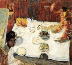 Pierre Bonnard-1925 la nappe blanche
