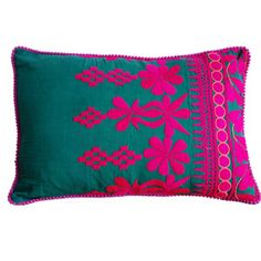 Rabari Pillow Mudra 18x12 Green now featured on Fab.