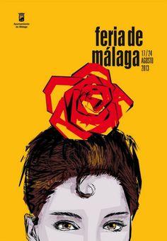 Cartel feria de malaga 2013