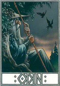 The Norse Mythology Online Library Featured Free eBook The Poetic Edda Translated by Henry Adams Bellows Read Online Odin Norse Mythology, Norse Runes, Norse Pagan, Old Norse, North Mythology, Rune Viking, Viking Life, Thor, Odin Allfather