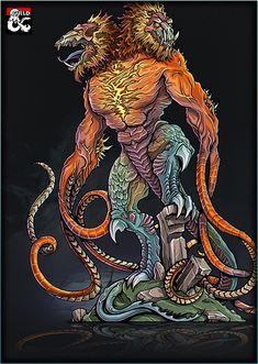 Fantasy Monster, Monster Art, Mythological Creatures, Mythical Creatures, Fantasy Books, Fantasy Artwork, Printable Heroes, Dnd Monsters, Forgotten Realms