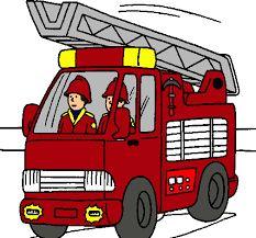 Resultado de imagen de camion de bomberos dibujo
