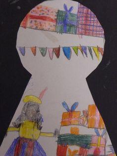 Bekijk de foto van Noemivb met als titel knutselen 2e leerjaar thema 5 (?) TvT en andere inspirerende plaatjes op Welke.nl. Fun Activities For Kids, Christmas Activities, Diy Crafts For Kids, Kids Christmas, Arts And Crafts, Kids Daycare, Kids Art Class, Elementary Art, Art School