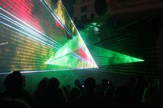 Lasershow Rostocker Lichtwoche