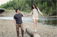 An adorable engagement session from Canada. An adorable engagement session from Canada. Couple Photoshoot Poses, Couple Photography Poses, Couple Posing, Couple Shoot, Engagement Photography, Wedding Photography, Engagement Session, Engagements, Nature Photography