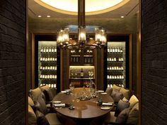 Or guests can be seated in a private dining room for a more intimate experience.