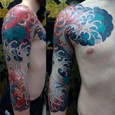 60 Japanese Half Sleeve Tattoos For Men