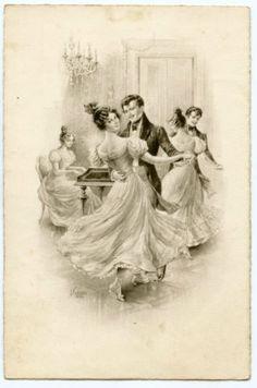 ILLUSTRATEUR-KRANZLE-WIEN-DANSE-VALSE-VIENNOISE-MUSICIEN-PIANISTE-Viennese-waltz