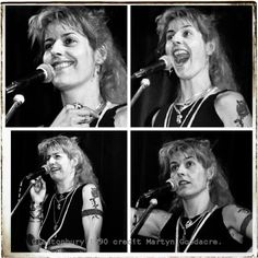 Me in performance at Glastonbury Festival 1990. Photos by Martyn Goodacre. No, I have no idea what I was on about ;)