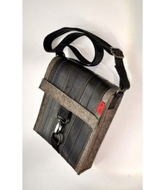 Stef Fauser Umhängetasche Bagginger-naturmeliert 24x20x6cm Schultertasche Tasche  - 2-flowerpower