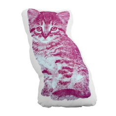 A baby kitty pillow for @Allie Fraley and all you other cat ladies.