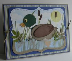 stampin up punch duck .