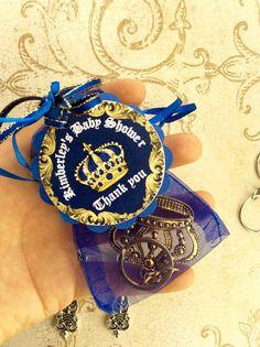 10 Royal blue Baby shower favors Little by Marshmallowfavors