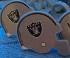 Raiders Cupcake Picks (12 pkg) by CarolineBakeItems on Etsy
