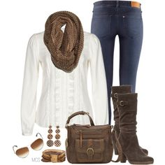 A fashion look from December 2012 featuring Passport blouses, H&M jeans and Pier 1 Imports shoes. Browse and shop related looks.