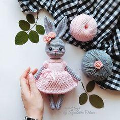 63 Free Crochet Bunny Amigurumi Patterns Crochet Pretty Bunny Amigurumi In Dress – Free Pattern – 63 Free Crochet Bunny Amigurumi Patterns – DIY & CraftsAre you looking for best crochet amigurumi? Checkout these 63 free Crochet Bunny Amigurumi Patte Crochet Baby Toys, Cute Crochet, Crochet Crafts, Crochet Dolls, Crochet Projects, Diy Crafts, Crochet Mignon, Crochet Bunny Pattern, Crochet Patterns Amigurumi
