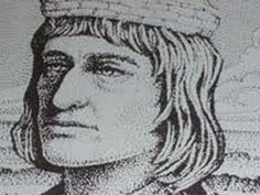 Diogo Cao, Portuguese navigator of the fifteenth century, sent by John II of Portugal to make the discovery of the African coast (1482-1486). On his first trip came to the mouth of the River Congo and I trace its course until Lelala cataract, where he left as a memorial inscription padrao in Portuguese. I established the first contacts with the African state of the Kingdom of Congo, called Manicongo, in order to achieve the allegiance of the king, came to Angola
