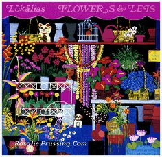 Rosalie Prussing Editions Gallery Five - Hawaii Rosalie Prussing Art Prints on Paper and Canvas