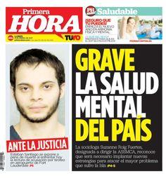 En portada: Grave la salud mental del país...