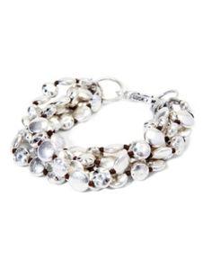 multi-strand chunky bracelet - like the clasp.
