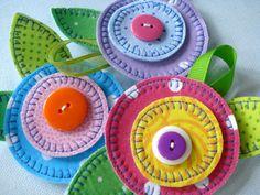 Hair Accessories Flower Accessories Number 1 por preciouspatterns