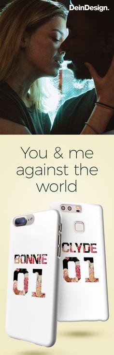 Bonnie & Clyde // Love Quote // Partner Phone Case // Partner Handyhülle // Valentine's Day // Valentinstag // Geschenkidee // Geschenk für Sie // Geschenk für Ihn // by DeinDesign.