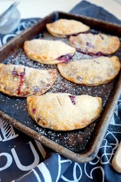 blackberry hand pies | The Baking Fairy