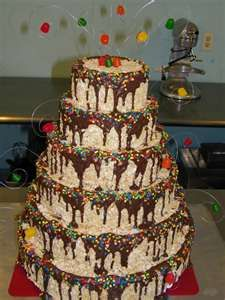 Image Search Results for rice krispie treats cake