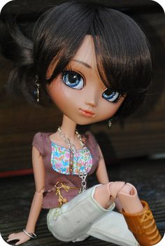 Tinsley (Pullip Nahh-Ato), by Tahani2009 on Flickr. After seeing this great custo, I felt in love with this pullip, when I didn't care a minute looking at it when it was issued !