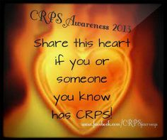 RSD/CRPS Awareness-Share if you know someone who's suffering from RSD/CRPS...