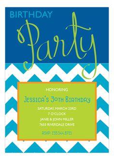 Birthday Party Script Royal Invitation