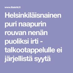Helsinkiläisnainen puri naapurin rouvan nenän puoliksi irti - talkootappelulle ei järjellistä syytä
