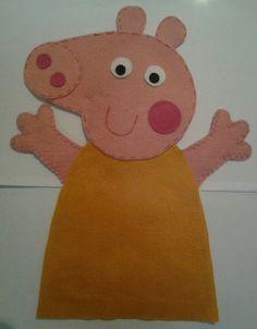 Fantoche Mamãe Pig