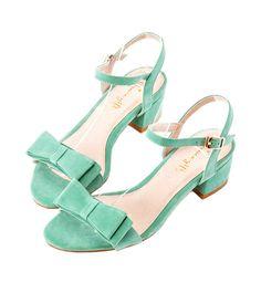 Grace giftGrace gift 官方購物網站 - 俏皮一字帶雙層蝴蝶結涼鞋