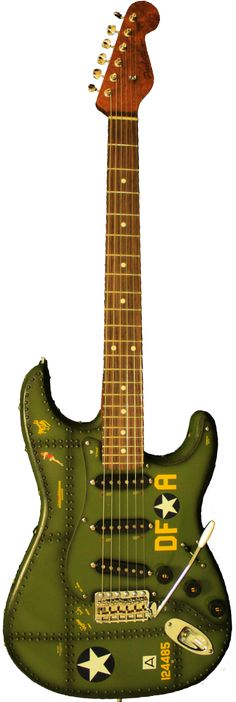 B17 Memphis Belle - Paoletti Guitars