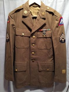 WW2 U.S Army 5th Army Service Jacket