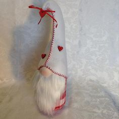 Needful Gifts by Cindi on Etsy Nordic Christmas Decorations, Christmas Ornaments To Make, Christmas Gnome, Valentine Decorations, Christmas Projects, Swedish Christmas, Valentine Images, Valentine Crafts, Holiday Crafts