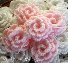 Sweet baby roses -- My Aunt Marie made some just like these for me years ago.