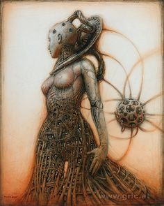 PETER GRIC Gynoid-Monument IV