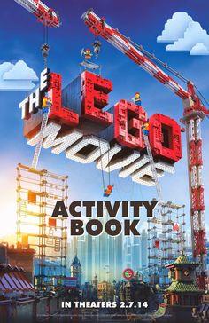 Lego, la Película: Libro de Actividades para Imprimir Gratis.                                                                                                                                                                                 Más
