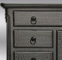 105 Best Crackle Paint Furniture Images Crackle Painting