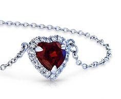 Garnet and Diamonds...