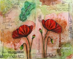 Art Journal - Poppies...