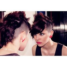 mohawk i want this hair