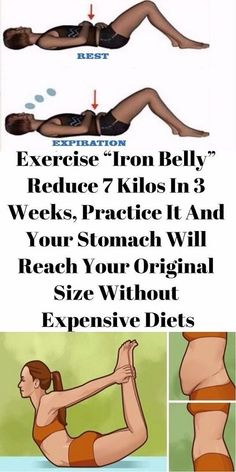 "EXERCISE ""IRON BELLY"" REDUCE 7 KILOS IN 3 WEEKS, PRACTICE IT AND YOUR STOMACH WILL REACH YOUR ORIGINAL SIZE WITHOUT EXPENSIVE DIETS - The Health Bible"