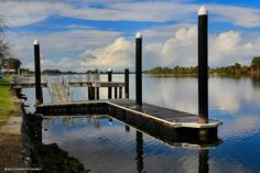 Taree Wharf, Manning River, Taree, NSW by blackdiamondimages on YouPic Australia Travel, Stuff To Do, River, Landscape, Places, Image, Scenery, Lugares, Landscape Paintings