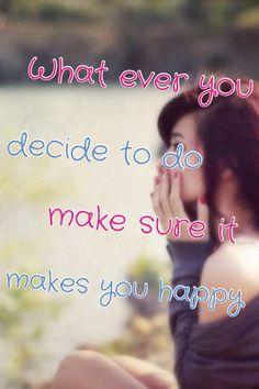 Be happy c: