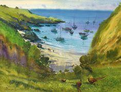#guernesey #watercolor #aquarelle #aquarelleart #showyourwork #artworks #goreaneugen #artgallery #uk #seascape