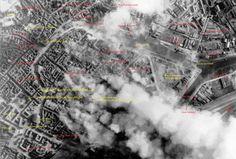 Caen: à 13h30 la foudre s'abat sur Caen et ses habitants. Le premier bombardement de la journée les surprend en plein déjeuner. Le centre est visé. Les morts sont nombreux, les blessés aussi.